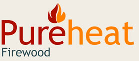 Logo | Logs, firewood Cirencester| FREE delivery for logburners, wood/kiln-dried-logs/seasoned-logs | Pureheat Firewood